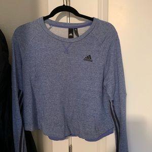 Cropped Adidas Crewneck